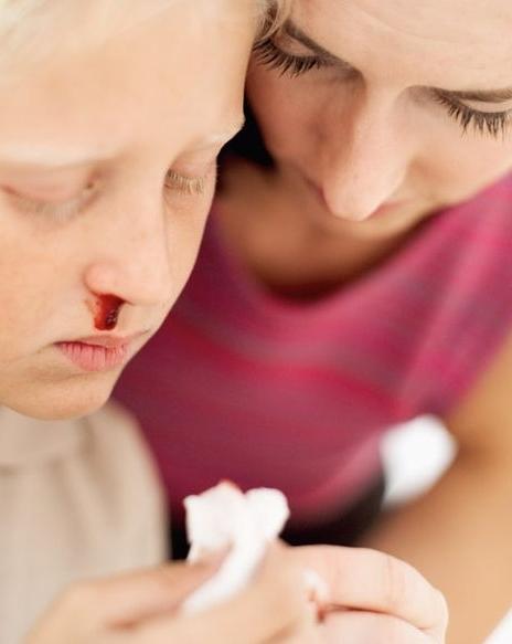 Кровотечение у ребенка - поможет холод