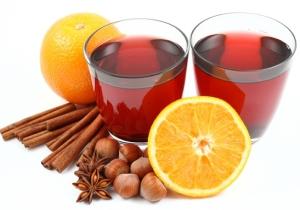 Корица, апельсины и орехи