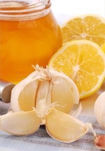 Чеснок с лимоном и медом
