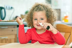 Антибиотик для детей при насморке