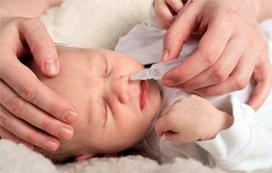 Капли от насморка с антибиотиками для детей