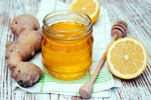 Лимон, мёд, имбирь от простуды