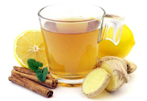 Чай с имбирём от простуды