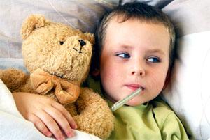 Осложнения после ОРВИ у детей