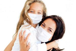 Защитная маска от простуды
