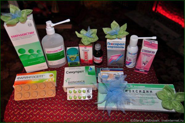 Препараты облегчающие симптомы простуды