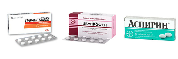 Таблетки от высокой температуры