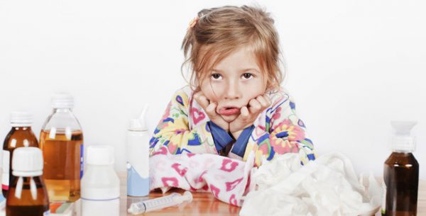 Народное лечение от гриппа для детей