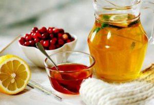 Мед с лимоном от простуды